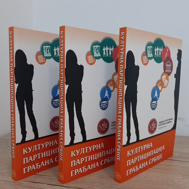 """The Book """"Cultural Participation of the Citizens of Serbia"""" is Out"""