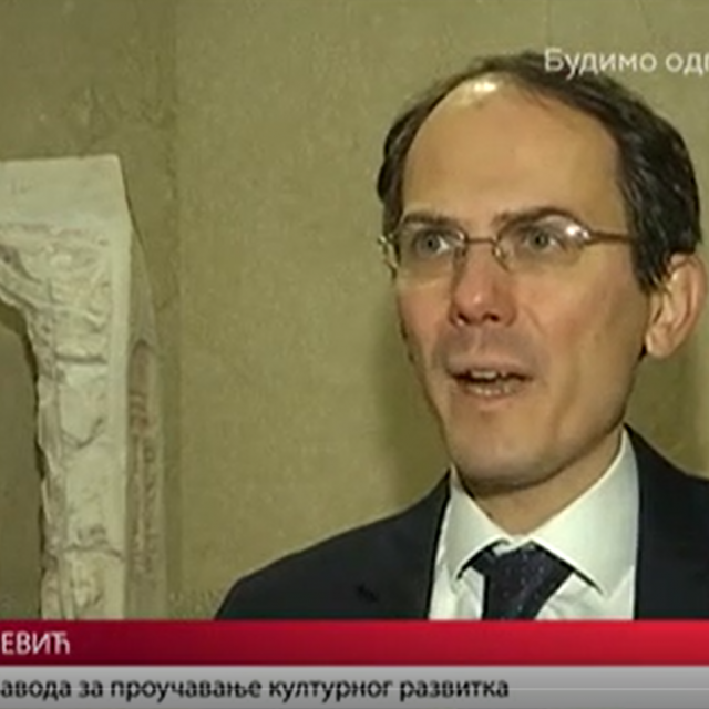 The Center's Director Spoke About the Results of UNESCO's Research for Dnevnik 2 on RTS